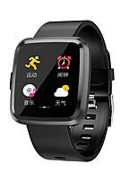 Недорогие -Y7P Мужчина женщина Умный браслет Android iOS Bluetooth Сенсорный экран Пульсомер Спорт Smart Информация Таймер Секундомер Педометр Напоминание о звонке Сидячий Напоминание