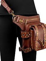 Недорогие -Косплей Ретро Steampunk мешок Жен. Костюм Темно-коричневый Винтаж Косплей Halloween На каждый день