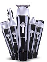 Недорогие -Europlug 5 в 1 машинка для стрижки волос аккумуляторная беспроводная комплект для груминга для мужчин триммер для бороды триммер для носа