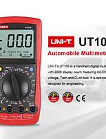 Недорогие -uni-t ut105 портативные автомобильные многофункциональные жк-цифровые счетчики мультиметр защита входов переменного тока постоянного тока напряжения