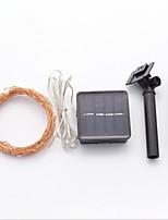 Недорогие -20 м Гирлянды 200 светодиоды Тёплый белый / Холодный белый Работает от солнечной энергии / Декоративная Солнечная энергия 1 комплект