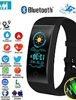 Недорогие -KF18 умный браслет монитор сердечного ритма артериальное давление умный браслет здоровье фитнес-трекер умный браслет для Android IOS