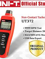 Недорогие -uni-t ut372 бесконтактный тахометр целевой диапазон оборотов 1099999 макс / мин / среднее расстояние тестирования 520 см USB-интерфейс