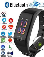 Недорогие -f1 умный браслет монитор сердечного ритма артериальное давление умный браслет здоровье фитнес-трекер умный браслет для android ios