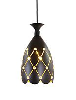 Недорогие -чаша / шишка / геометрический Подвесные лампы Рассеянное освещение Окрашенные отделки Металл Хрусталь, Творчество, Регулируется 110-120Вольт / 220-240Вольт