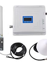 Недорогие -gsm / dcs / wcdma мобильный повторитель сигнала усилитель сигнала усилитель сигнала 900/1800/2100 двухдиапазонный 2g3g4g