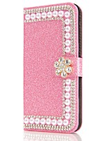 cheap -Case For Huawei Y6p Y5p Y7p Wallet Card Holder with Stand Pearl Flower Buckle PU Leather Case For Huawei P smart 2020 P40 lite  Honor 9S Nova 6 SE Nova 7i P40 Pro Y7 Prime (2019) Honor 20 lite Mate 20