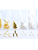 Недорогие -100 шт. / Упак. 23 конструкций съемный / безопасность 3d сплав аксессуары для ногтей искусство сделай сам прекрасный лебедь металл украшения искусства ногтя педикюр фестиваль / день рождения