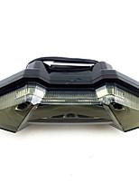 Недорогие -светодиодные задние фонари тормозной указатель поворота встроенный светодиодный фонарь для yamaha MT-09 fz09 13-17