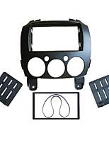 Недорогие -автомобильная аудио и видео коробка для конвертации двойной слиток аудио CD / DVD панель для преобразования кронштейнов для Mazda 2 2010