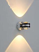 Недорогие -Хрусталь / Зеркальная поверхность LED / Современный современный Настенные светильники Столовая / В помещении Металл настенный светильник IP44 общий 3 W