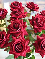 Недорогие -растение украшения мини-бочонок остроконечный роза