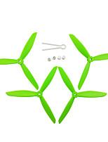 Недорогие -MJX Bugs 3 PRO B3 PRO Holy Stone HS700 4шт Пропеллеры RC Quadcopters RC Quadcopters ABS + PC Низкий шум / Простота установки / Прочный