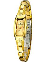 Недорогие -Жен. Нарядные часы Кварцевый Защита от влаги Аналоговый минималист - Розовое золото Золотой Серебряный
