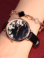 cheap -Women's Quartz Watches Quartz Stylish Fashion Casual Watch Analog Black Blushing Pink Brown / One Year / PU Leather / One Year