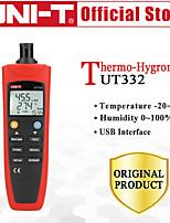 Недорогие -uni-t ut332 портативный цифровой термометр влажности&измеритель температуры гигрометр жк подсветка передача данных usb