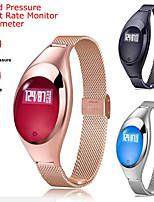 Недорогие -Смарт Часы Цифровой Современный Спортивные 30 m Защита от влаги Пульсомер Bluetooth Цифровой На каждый день На открытом воздухе - Черный Золотистый Серебряный