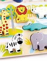 Недорогие -Деревянные пазлы С мультяшными героями Сбрасывает СДВГ, СДВГ, Беспокойство, Аутизм Декомпрессионные игрушки Взаимодействие родителей и детей деревянный 3 pcs Детские Все Игрушки Подарок