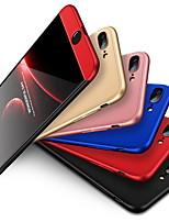 Недорогие -Кейс для Назначение Apple iPhone 8 Pluss / iPhone 8 / iPhone 7 Plus Защита от удара Кейс на заднюю панель Однотонный Твердый ПК