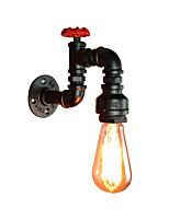 Недорогие -антикварная настенная лампа дизайн водопровода 1 легкий промышленный бра бра Эдисон ночник Освещение американской простоты настенные светильники для прихожей бар проход