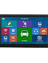 Недорогие -7-дюймовый автомобильный GPS-навигатор Satnav 256/8 ГБ навигаторы FM-передатчик MP3 / MP4 плееры