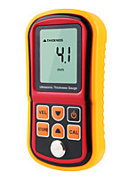 Недорогие -gm100 цифровой жк-дисплей ультразвуковой толщиномер металла тестер измерительные приборы 1.2 до 200 мм измеритель скорости звука