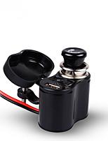 Недорогие -Мотоцикл водонепроницаемый зарядное устройство розетка USB мотоцикл 12 В прикуривателя 5 В USB порт