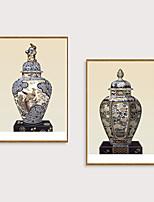 Недорогие -Отпечаток в раме Набор в раме - Натюрморт Полистирен Фотографии Предметы искусства