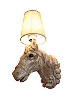 Недорогие -бра настенный светильник декор в стиле смолаы настенный светильник традиционный / стильный / ретро винтажный настенный светильник / настенные светильники&усилитель; бра / кафе / крытый