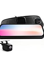 Недорогие -8,5-дюймовый автомобильный видеорегистратор - двойная камера fhd visuals G-сенсор 128 ГБ Поддержка SD-карт SD-карта записи широкий угол обзора для BMW