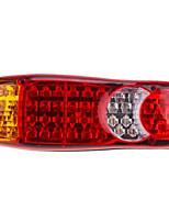 Недорогие -1pcs Мотоцикл / Автомобиль Лампы Светодиодная лампа Задний свет / Предупреждающие огни Назначение Мотоциклы / Универсальный