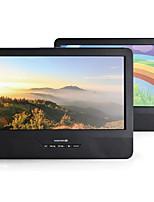Недорогие -Litbest DVD-плеер с двойным экраном и 9-дюймовым mp3-плеером для универсальной поддержки microusb DivX MP3 JPEG