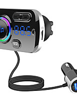 cheap -BC49BQ FM Transmitter for Car Bluetooth 5.0 Wireless Car Radio Adapter with QC3.0 & 5V/2.4A Dual Charging Port Easy Attached to Air Vent Better Hands Free Car Kit Music Player