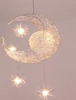 Недорогие -5-Light Оригинальные Подвесные лампы Рассеянное освещение Электропокрытие Алюминий обожаемый 110-120Вольт / 220-240Вольт Теплый белый / Холодный белый