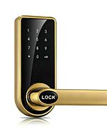 Недорогие -мобильный телефон удаленного Bluetooth дверной замок цинковый сплав материал электронный кодовый замок может заменить шаровой замок