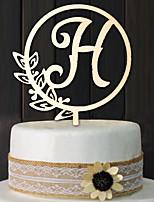 Недорогие -Орнаменты деревянный Свадебные украшения Свадьба / Свадебные прием Свадьба Все сезоны