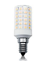 Недорогие -Loende 7 Вт светодиодные фонари кукурузы 100-265 В 900LM E14 66 светодиодные лампы smd5730 белый / теплый белый