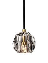 Недорогие -простой подвесной светильник подвесной светильник хрустальный оттенок подвесной светильник рассеянный свет гальванический кристалл