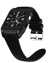 Недорогие -умные часы x86 android 4.4 os mtk6572 bluetooth 4.0 3g wifi rom 4 Гб оперативной памяти 512 мб smartwatch