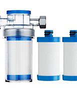 Недорогие -выход очистителя универсальный фильтр для душа pp хлопок бытовые кухонные смесители очистки воды для дома аксессуары для ванной комнаты