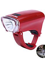 Недорогие -Светодиодная лампа Велосипедные фары Светодиодные фонари Waterproof Передняя фара для велосипеда Велоспорт Водонепроницаемый Анти-скольжение Быстросъемный AA 100 lm 3 х АА батареи Белый