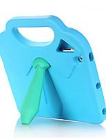 Недорогие -Кейс для Назначение Apple iPad 4/3/2 Защита от удара / Безопасно для детей Кейс на заднюю панель Однотонный / 3D в мультяшном стиле Этиленвинилацетат