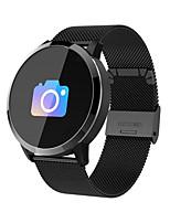 Недорогие -Q8 Smart Watch из нержавеющей стали BT Поддержка фитнес-трекер уведомить / артериальное давление / монитор сердечного ритма Спорт SmartWatch совместимые телефоны IOS / Android