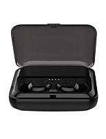 Недорогие -Kawbrown F9 TWS True Wireless Наушники Bluetooth 5.0 Наушники Мини 5D стереонаушники бинауральный вызов громкой связи водонепроницаемый держатель питания банка
