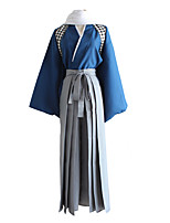 cheap -Inspired by Touken Ranbu Yamatonokami Yasusada Anime Cosplay Costumes Japanese Cosplay Suits Top Pants Scarf For Men's Women's