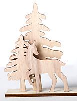 Недорогие -Орнаменты Дерево 3шт Рождество