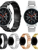 Недорогие -Ремешок для часов для Gear S3 Frontier / Gear S3 Classic / Samsung Galaxy Watch 46 Samsung Galaxy Спортивный ремешок Нержавеющая сталь Повязка на запястье