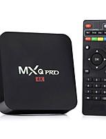 Недорогие -MXQ Pro Android 7.1 ТВ-бокс Quad Core RK3329 1 ГБ 8 ГБ Wi-Fi-приставка