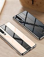 Недорогие -чехол для телефона для huawei p30 pro p30 lite p30 противоударное покрытие зеркало в ПК твердая задняя крышка для huawei p20 pro p20 lite p20 край tpu