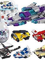 Недорогие -Конструкторы 1 pcs совместимый Legoing Ручная работа Взаимодействие родителей и детей Полицейская машинка Вертолет Все Игрушки Подарок